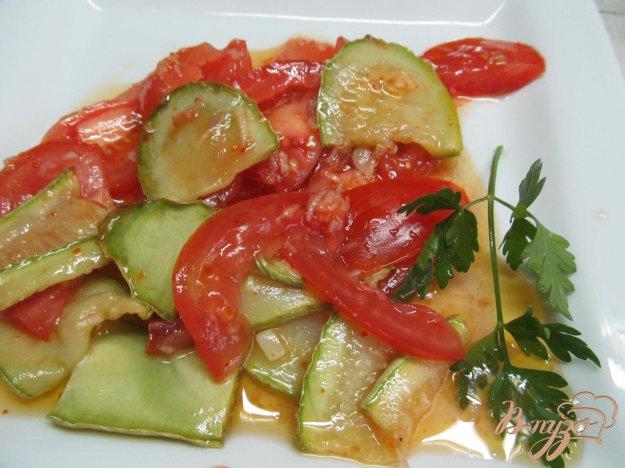 фото рецепта: Теплый салат