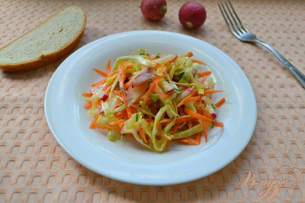 фото рецепта: Весенний овощной хрустящий салат