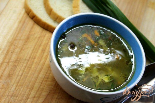 фото рецепта: Суп из цветной капусты с яйцом