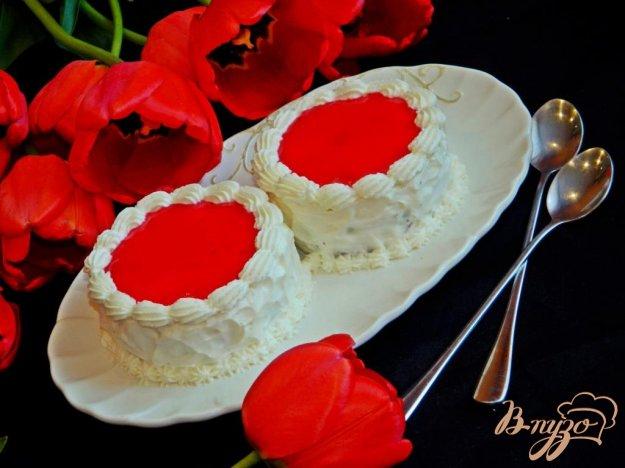 фото рецепта: Шоколадно-вишневые пирожные