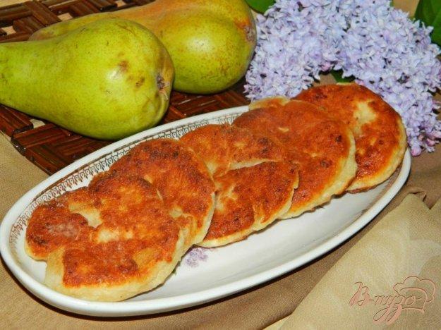фото рецепта: Сырники с грушами