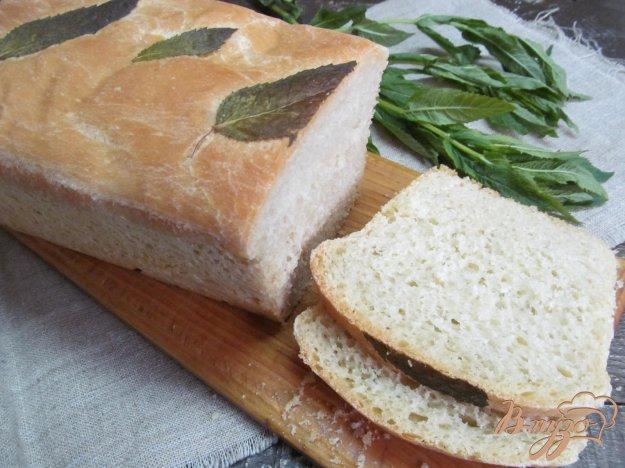 фото рецепта: Мятный хлеб