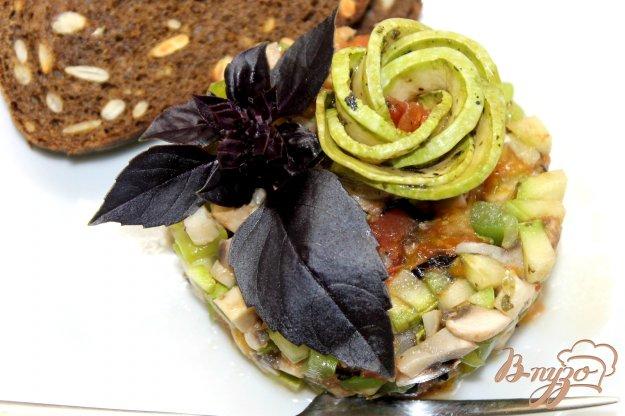 Тартар из овощей гриль