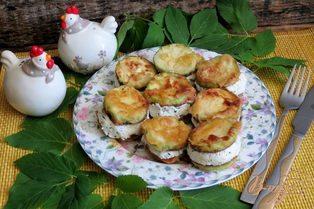 фото рецепта: Кабачки закусочные с творогом
