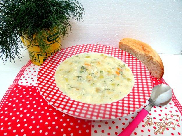 фото рецепта: Суп молочно-кабачковый