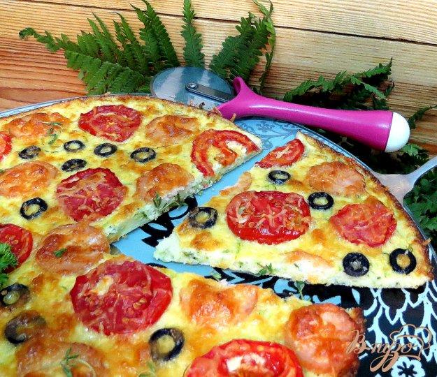 фото рецепта: Пицца на кабачковой основе