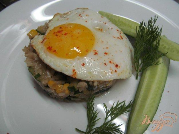 фото рецепта: Завтрак по азиатский мотивам