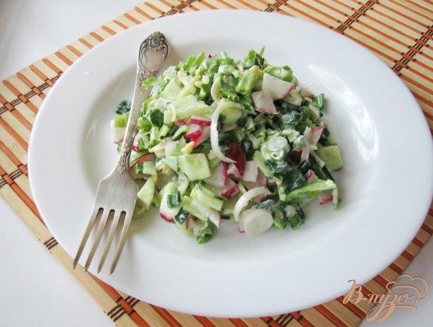 фото рецепта: Салат из редиса с сыром