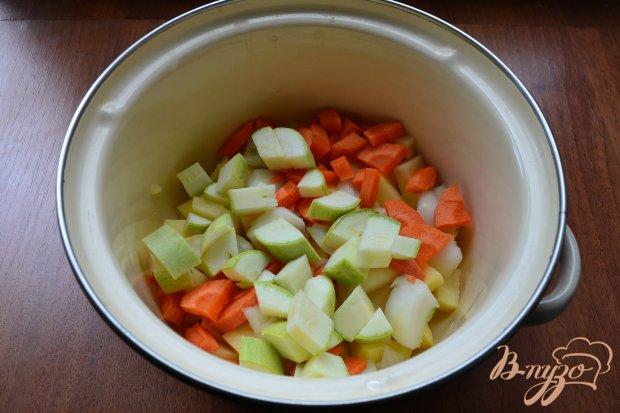 Легкий суп с кабачком и овсянкой