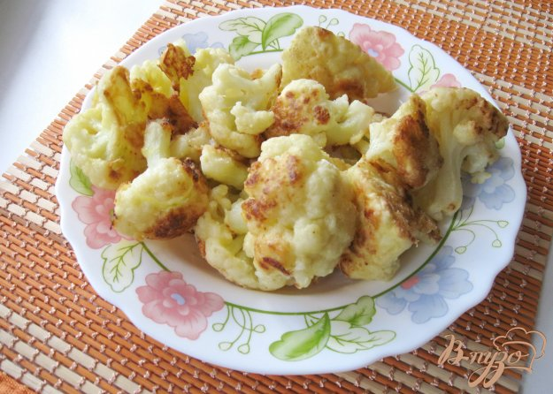 фото рецепта: Цветная капуста жареная в яйцах с мукой