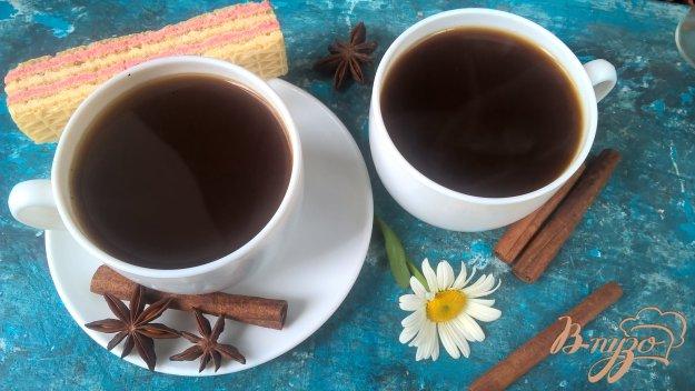 фото рецепта: Кофе с какао и корицей