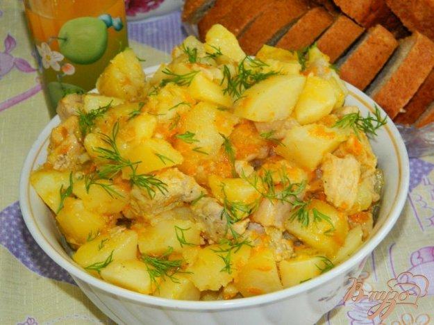 картофель с мясом в аэрогриле рецепты с фото
