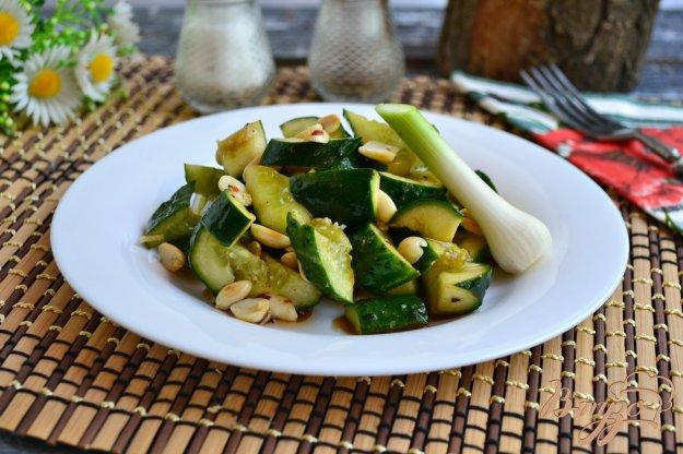 фото рецепта: Китайский салат из битых огурцов