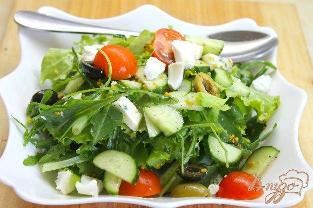 фото рецепта: Летный овощной салат с Дор Блю