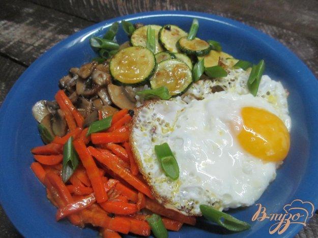 фото рецепта: Корейский рис с овощами