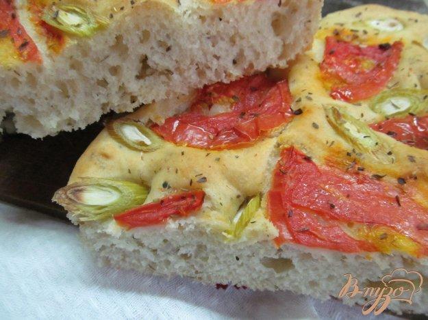 фото рецепта: Фокачча с сыром тофу