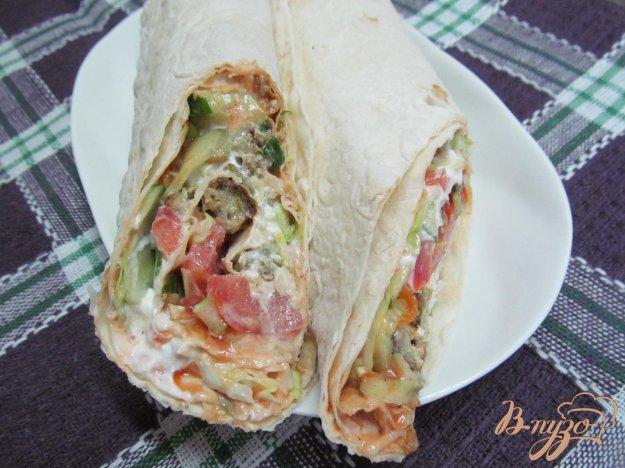 фото рецепта: Шаурма от турецкого шеф-повара