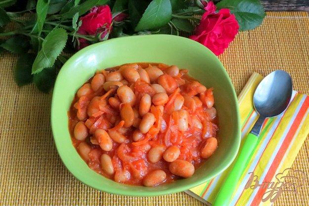 фото рецепта: Фасоль в томате в духовке