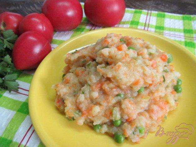 фото рецепта: Картофельное пюре с овощными добавками