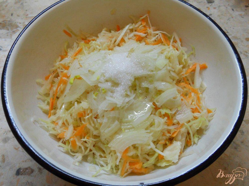 капуста с уксусом и морковью