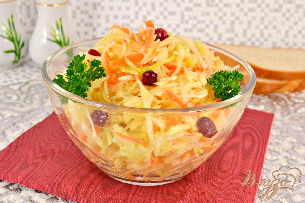 фото рецепта: Салат из капусты и моркови с уксусом