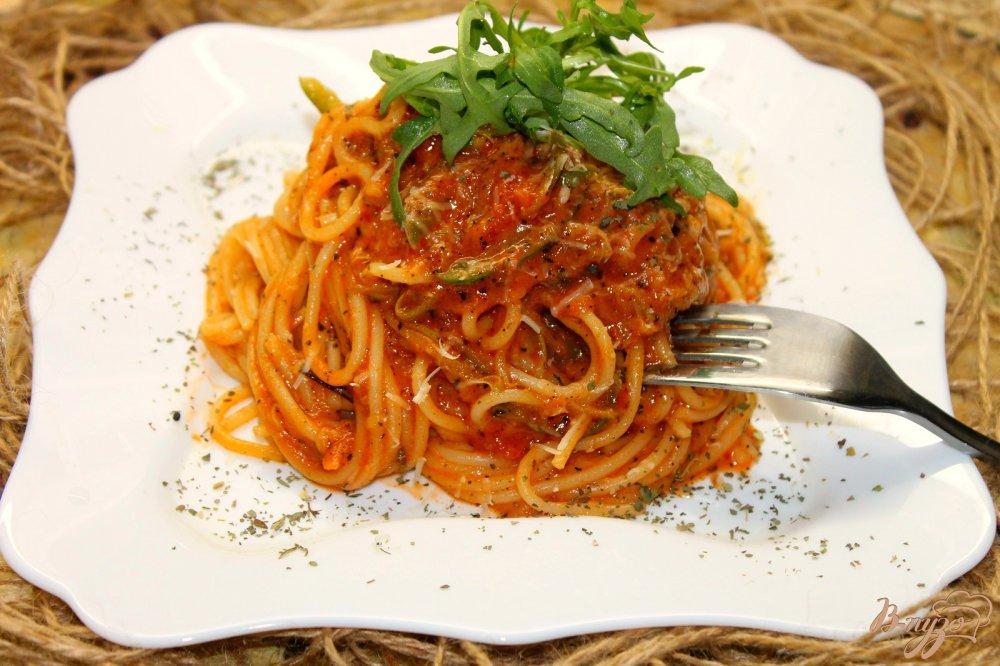 Паста с томатным соусом рецепт