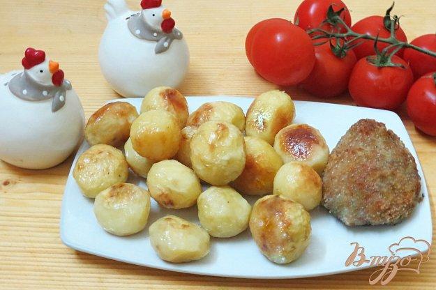 фото рецепта: Молодой картофель запеченный