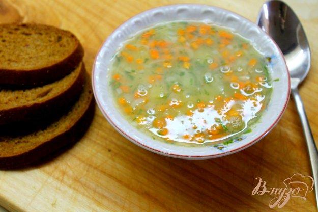 фото рецепта: Гороховый суп с куриной ветчиной