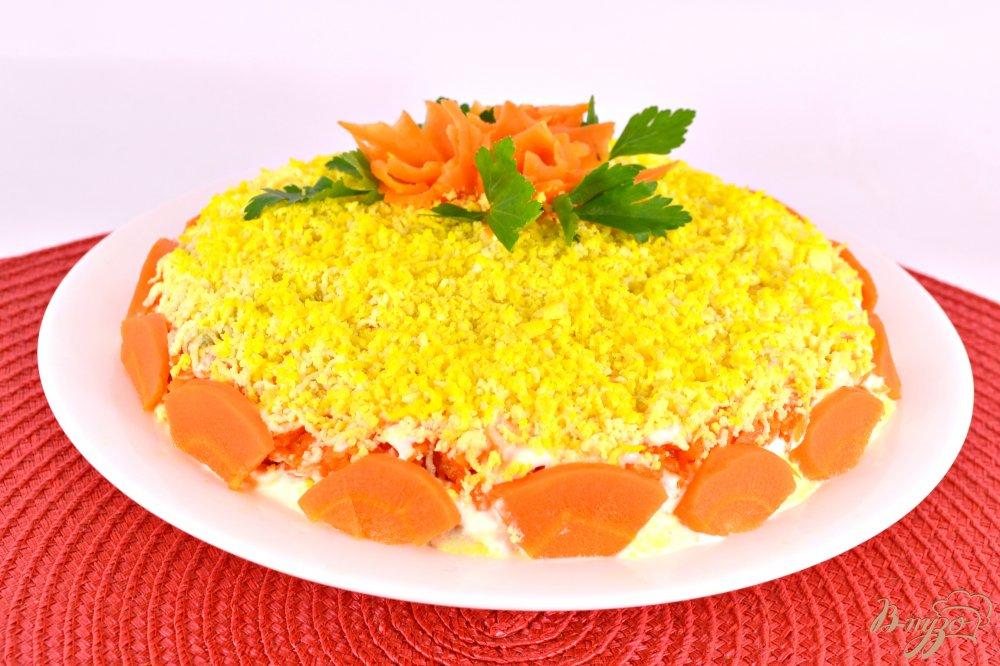 Мимоза салат рецепт с сыром и картофелем рецепт