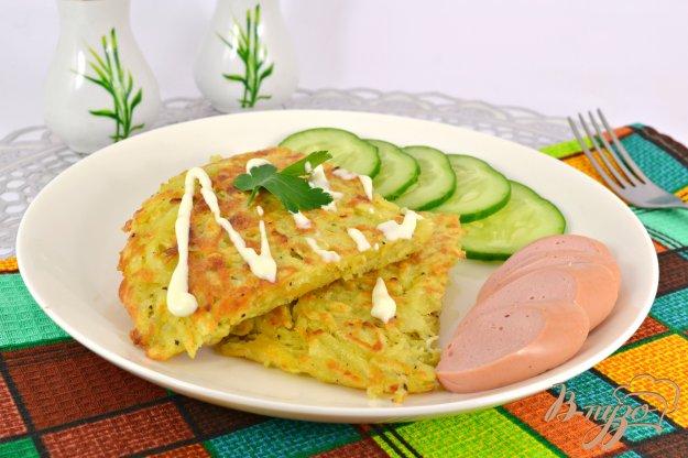 фото рецепта: Картофельная лепешка к завтраку