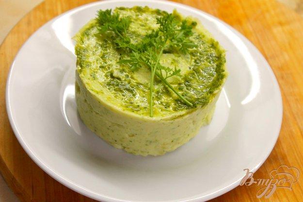 фото рецепта: Пюре из молодого картофеля с чесночным соусом и плавленым сыром