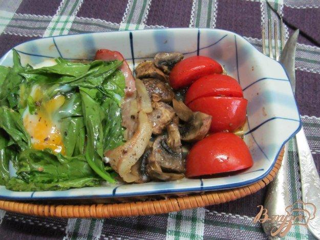 фото рецепта: Английский завтрак в одной посуде