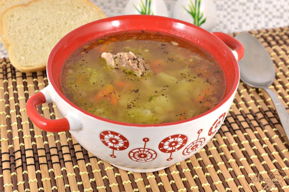 Суп со свининой рецепт с пошагово