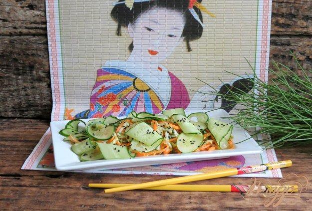фото рецепта: Салат овощной а-ля по-тайски