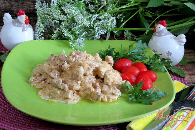 фото рецепта: Свинина нежная в сливочном соусе