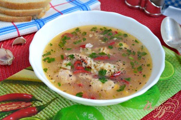 фото рецепта: Острый суп в азиатском стиле