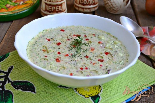 фото рецепта: Холодный огуречный суп