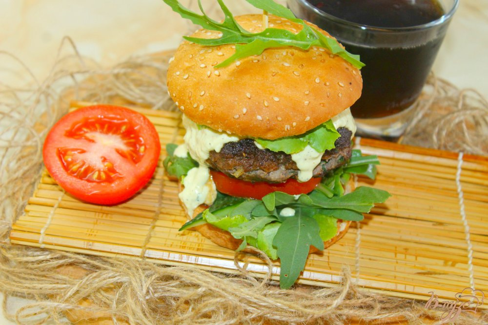 Рецепт бургера с котлетой в домашних условиях