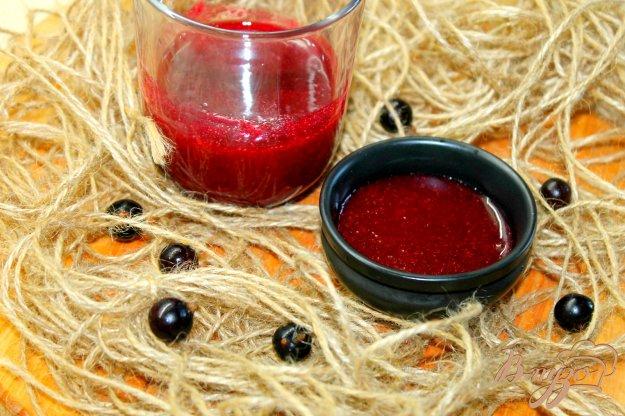 фото рецепта: Смородиновый соус с мятой и имбирем