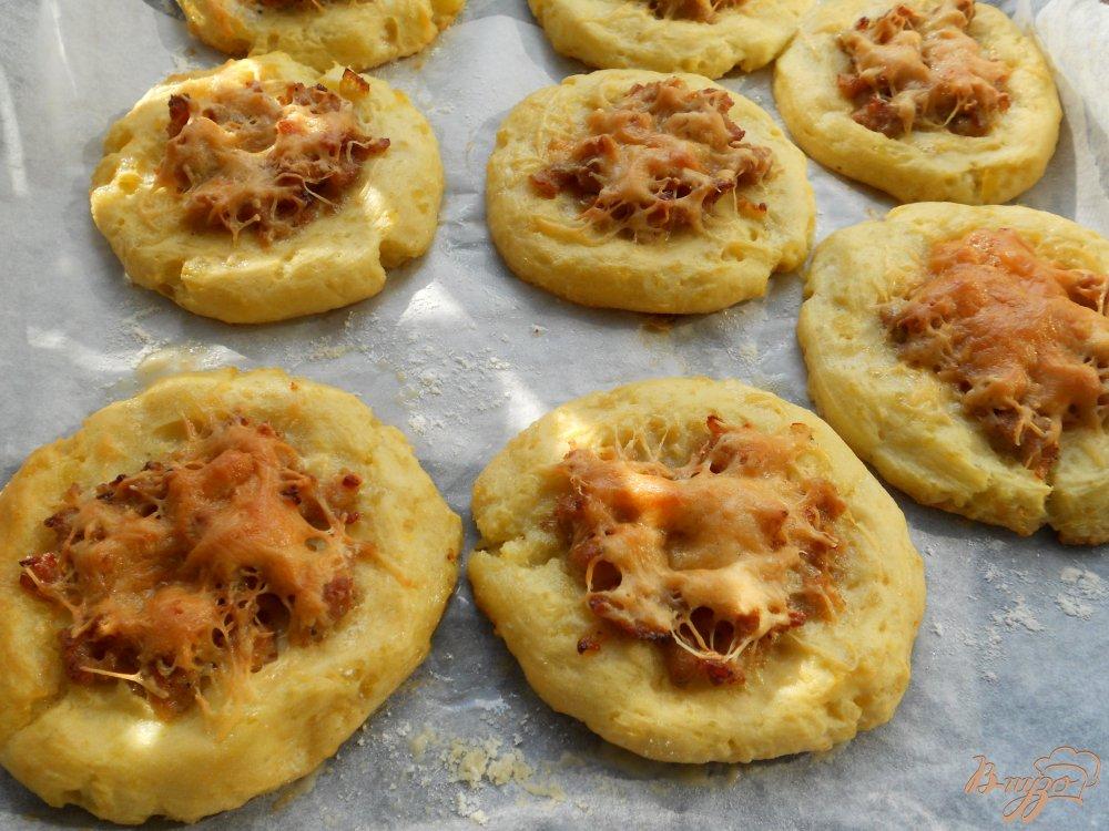 Рецепт лепешки с сыром и картофелем