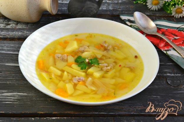 фото рецепта: Куриный суп с лапшой