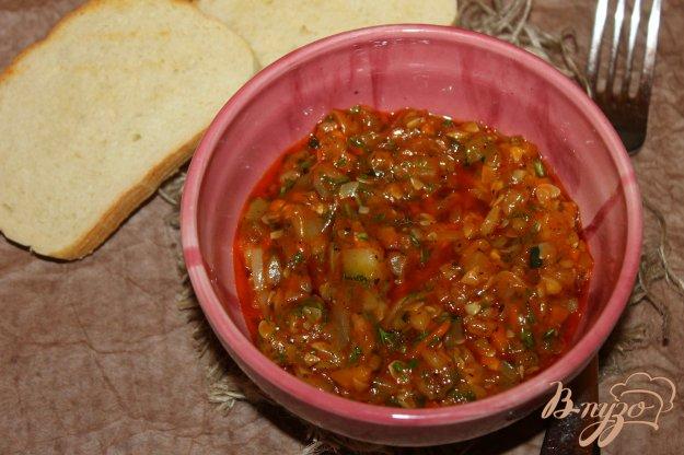 фото рецепта: Подлива из кабачка и белого перца