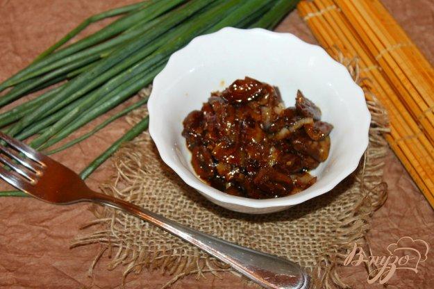 Куриные сердечки с луком пошаговый рецепт с