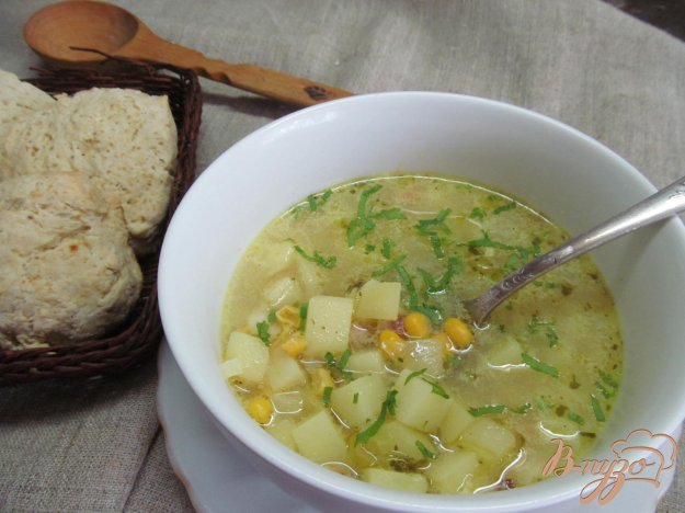 фото рецепта: Американский кукурузный суп