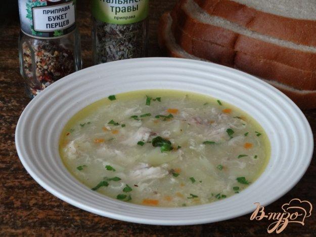 фото рецепта: Куриный суп с пшеном в мультиварке