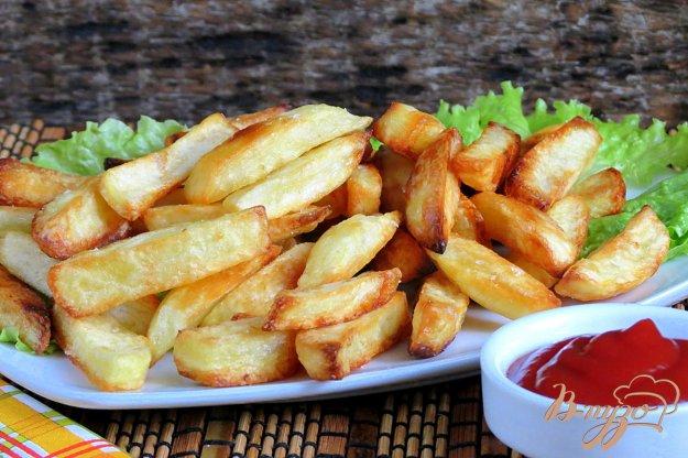 Хрустящая картошка в духовке рецепт с пошагово в