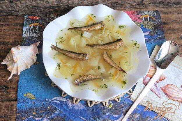 фото рецепта: Суп со шпротами