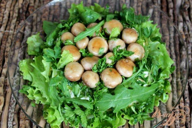 фото рецепта: Салат грибная полянка
