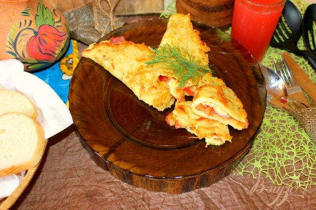 фото рецепта: Картофельные лепешки с начинкой