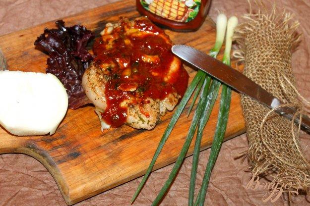 фото рецепта: Жареная свинина с чесноком и сливочным маслом